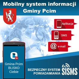 Mobilny System Informacji Gminy Pcim